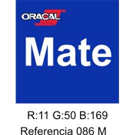 Oracal 631 Brillant Blue 086 MATE