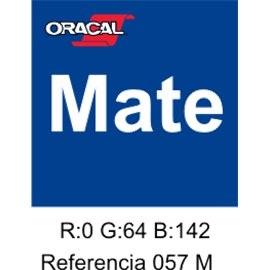 Oracal 631 Traffic Blue 057 MATE