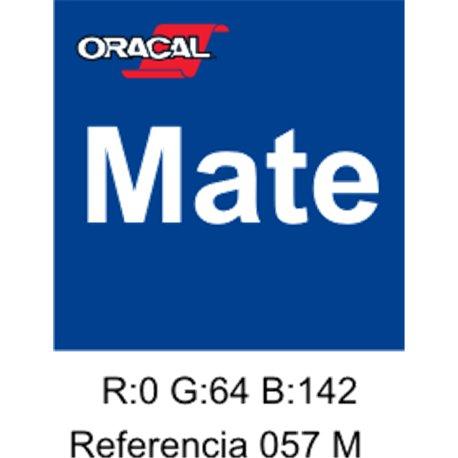 Oracal 631 Traffic Blue 057 MATE