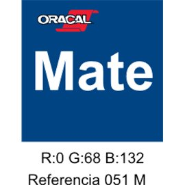 Oracal 631 Gentian Blue 051 MATE