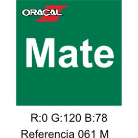 Oracal 631 Verde 061 MATE