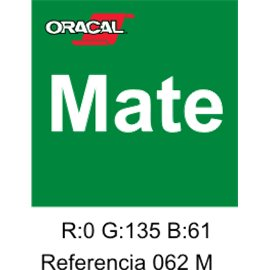Oracal 631 Light Green 062 MATE