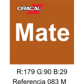 Oracal 631 Nut Brown 083 MATE