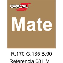 Oracal 631 Light Brown 081 MATE