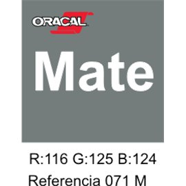 Oracal 631 Grey 071 MATE