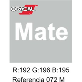 Oracal 631 Light Grey 072 MATE