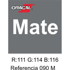 Oracal 631 Plata 090 MATE