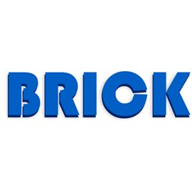 Siser Brick 1000 Azul royal