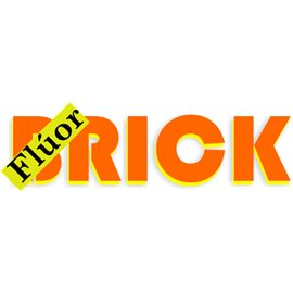 Siser Brick 1000 Naranja Fluor