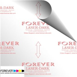 Papel transfer Forever Dark