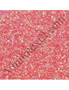 Siser Glitter 2 Rainbow Coral