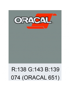Oracal 651 Middle grey