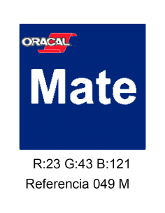 Oracal 641 King Blue 049 MATE