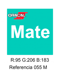 Oracal 641 Mint 055 MATE