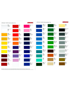 Carta de colores Oracal 651