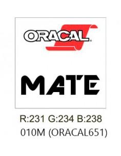 Oracal 651 MATE Blanco