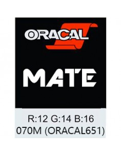 Oracal 651 MATE Black
