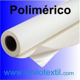 Vinilo adhesivo polimérico blanco brillo