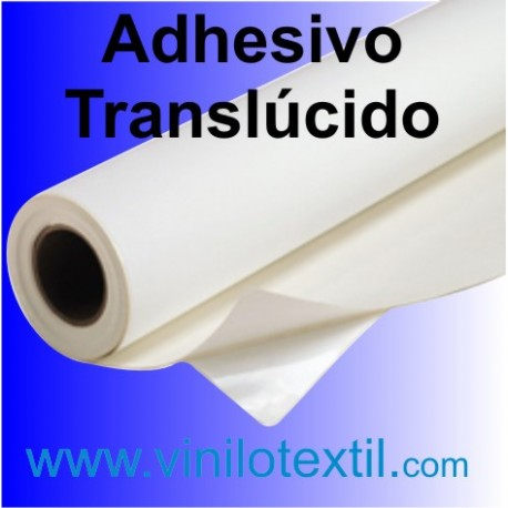 Vinilo adhesivo blanco mate waterproof translucido