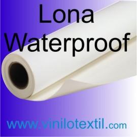 Lona blanca mate waterproof