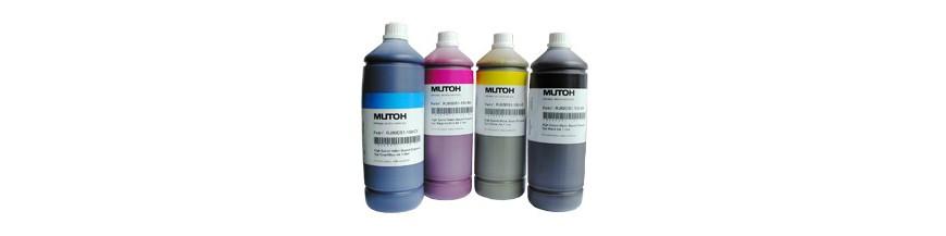 Tintas de originales y compatibles a granel.