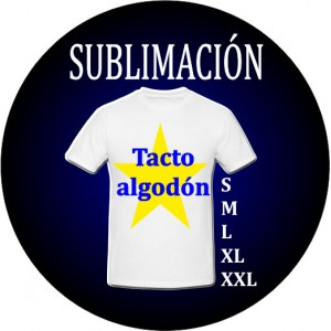 Camisetas Sublimación